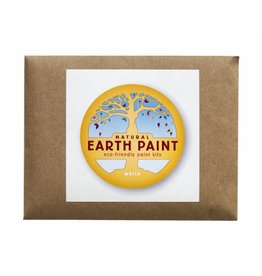 Children's Earth Paint per kleur - wit