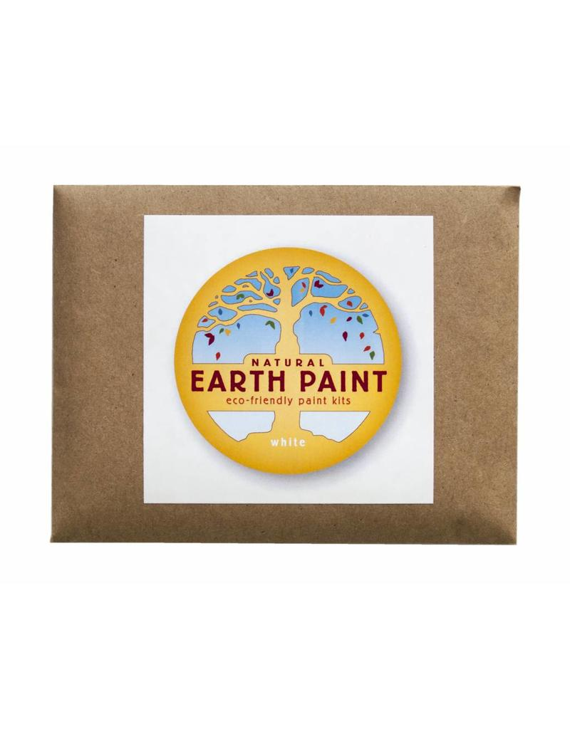Children's Earth Paint by Color - white