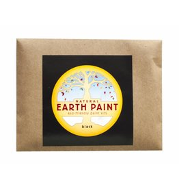 Children's Earth Paint per kleur - zwart
