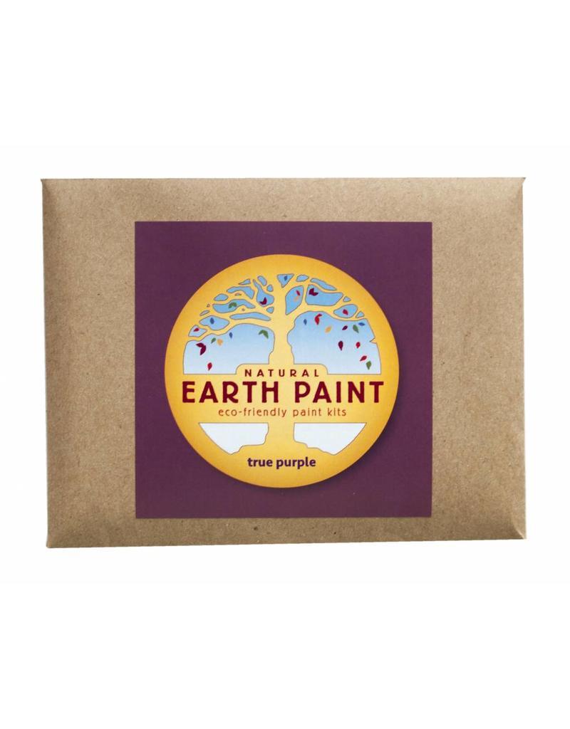 Children's Earth Paint - natuurlijke verf per kleur - paars