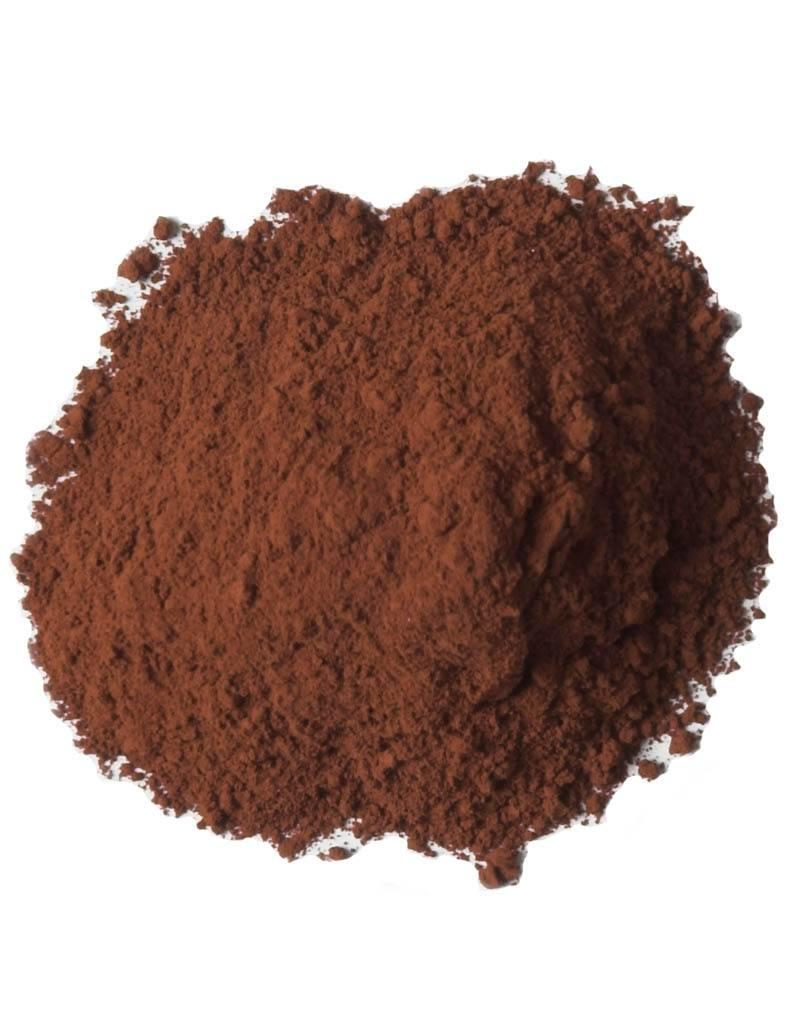 Bulk olieverf pigment kleur Burnt Sienna