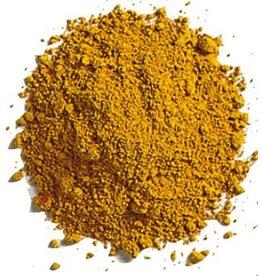 Bulk olieverf pigment Yellow Ocher