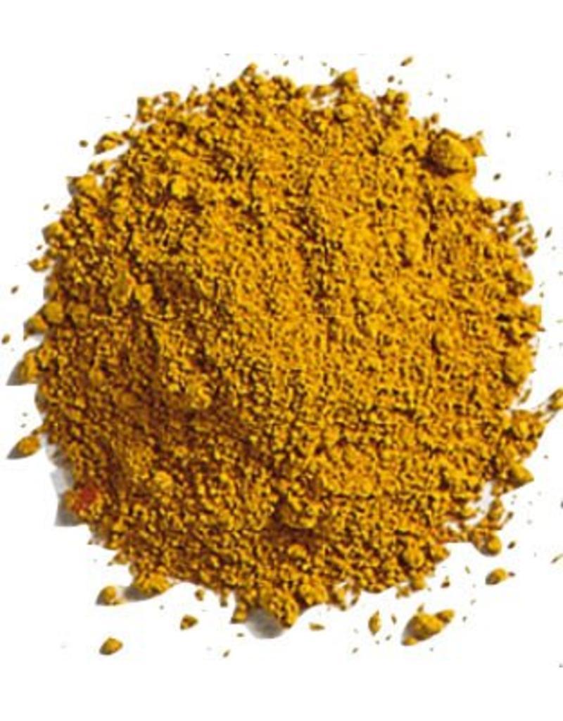 Bulk olieverf pigment kleur Yellow Ocher