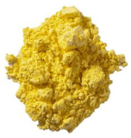 Bulk olieverf pigment Brilliant Yellow
