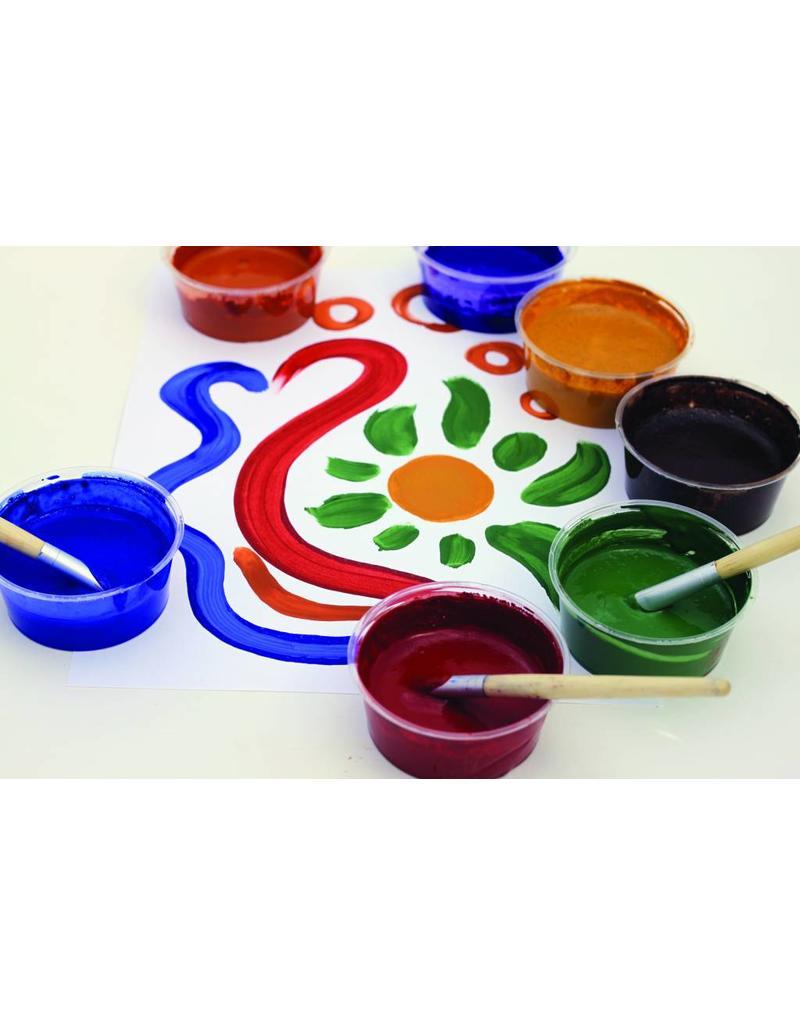 Children's Earth Paint - natuurlijke verf per kleur - groen