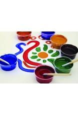 Children's Earth Paint - natuurlijke verf per kleur - rood