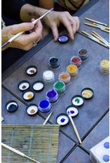 Natural Face/Body Paint individual colors - zwart