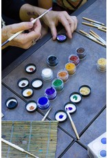 Natural Face/Body Paint Individual jar yellow