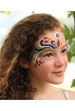 Natural Face/Body Paint individuele kleur - rood