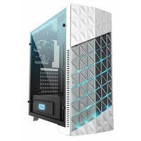 Case  Onyx Game MidiTower / Glas / EVA light /USB3 / Wit