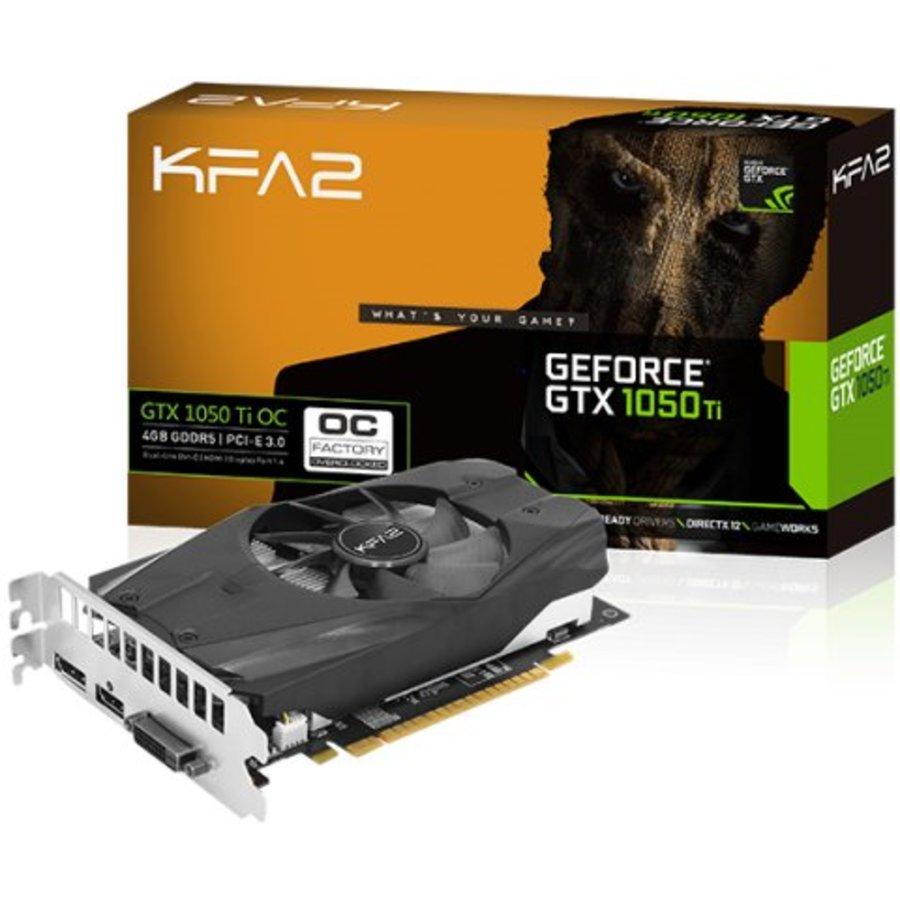 KFA2 NVIDIA GeForce GTX1050 Ti OC 4Gb