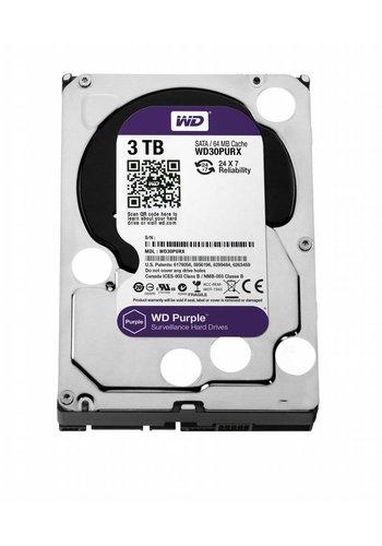 Western Digital Purple 3000GB SATA III interne harde schijf