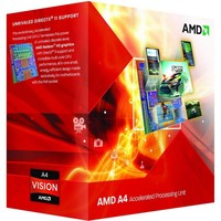 CPU  A4-6300 Dual Core / 3.7GHz-3.9GHz / FM2+ / 65W / BOX