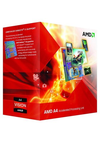 AMD A4-6300 Dual Core / 3.7GHz-3.9GHz / FM2 / 65W / BOX