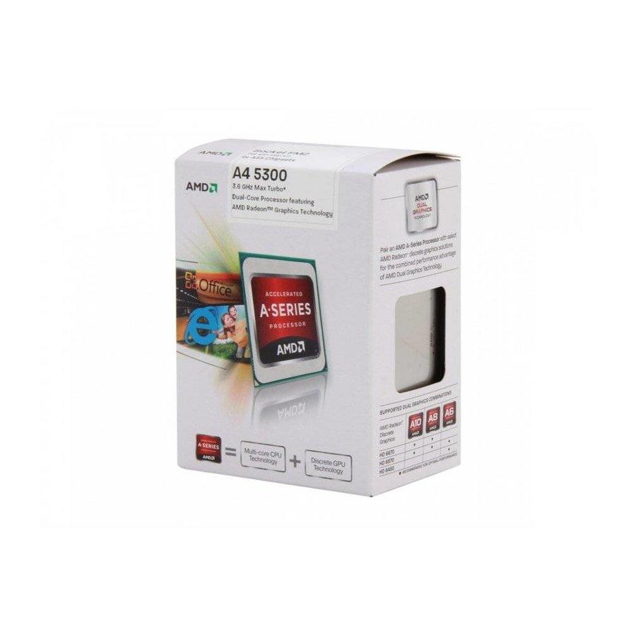 CPU  A4-5300 / 3.4 - 3.7 Ghz DUAL / FM2 / 65W / BOX