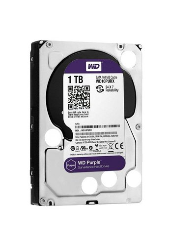 Western Digital Purple 1000GB SATA III interne harde schijf