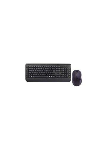 OEM Imaxion Wireless Desktopset Keyboard + Mouse / Black  / Retail