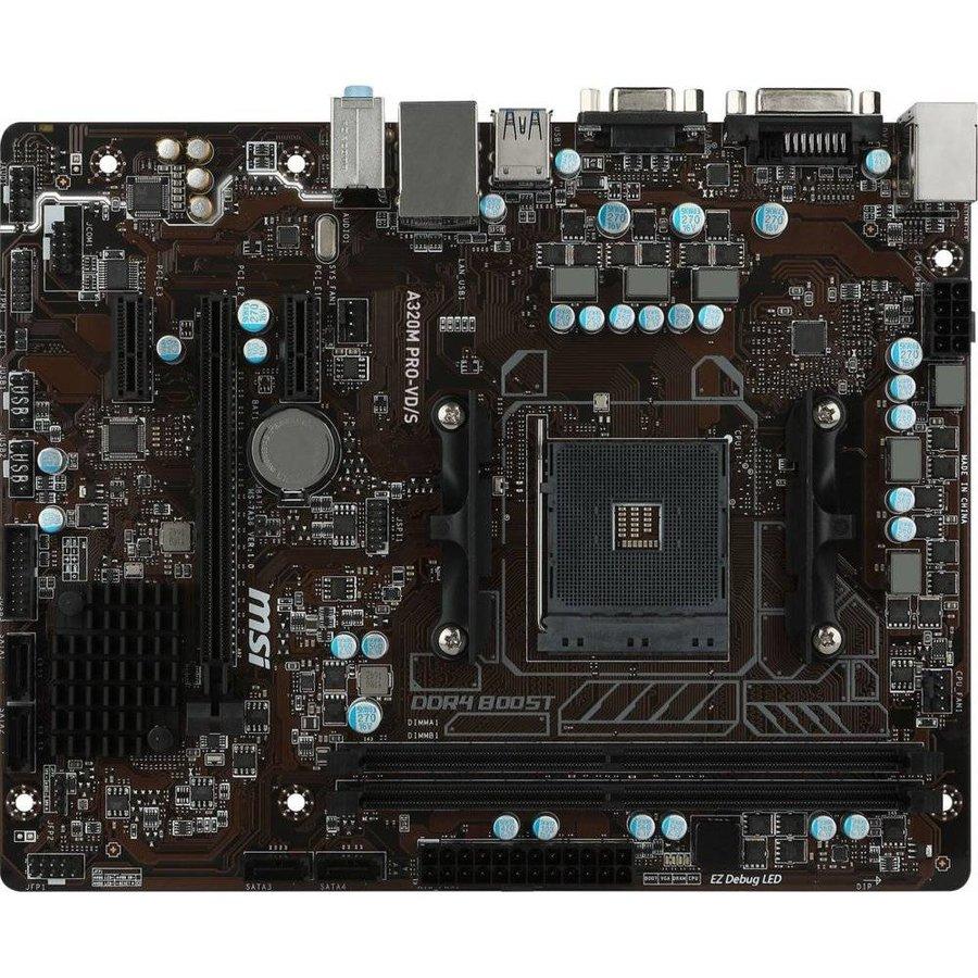 MB MSI A320M PRO-VD/S  / AM4 / DVI / USB3 / mATX