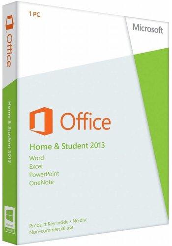 Microsoft Office 2013 Thuisgebruik en Studenten EU (SP)
