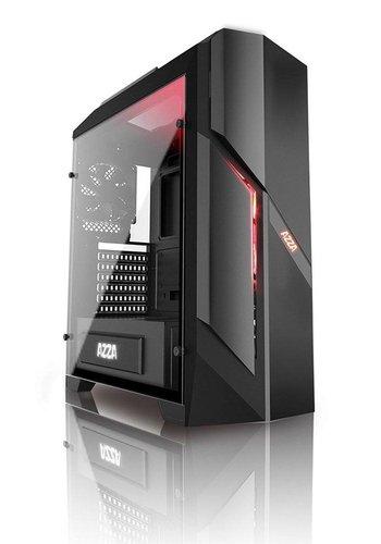 Azza Photios250X Midi-Toren Zwart computerbehuizing