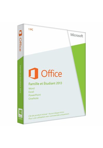 Microsoft Office 2013 Home and Student EU (FR)