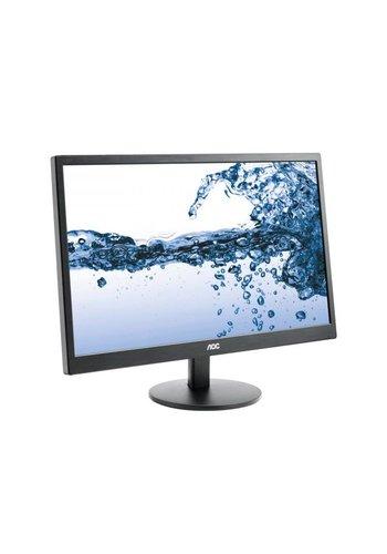 "AOC E2270SWHN 21.5"" Zwart Full HD Matt LED display"