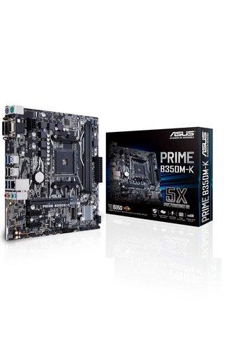 Asus ASUS Prime B350M-K AMD B350 Socket AM4 Mini-ATX moederbord
