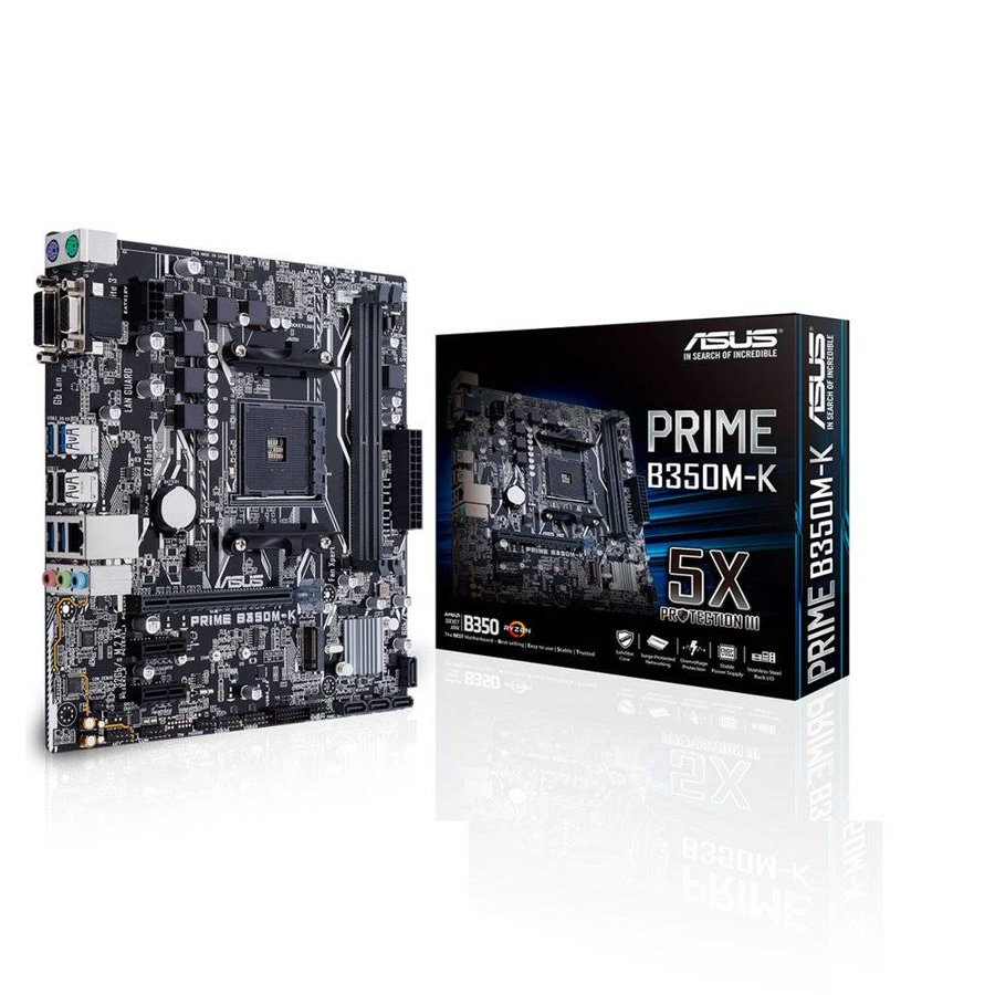 MB  Prime B350M-K AM4 / HDMI / USB3 / mATX