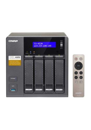 Qnap QNAP TS-453A NAS Toren Ethernet LAN Zwart