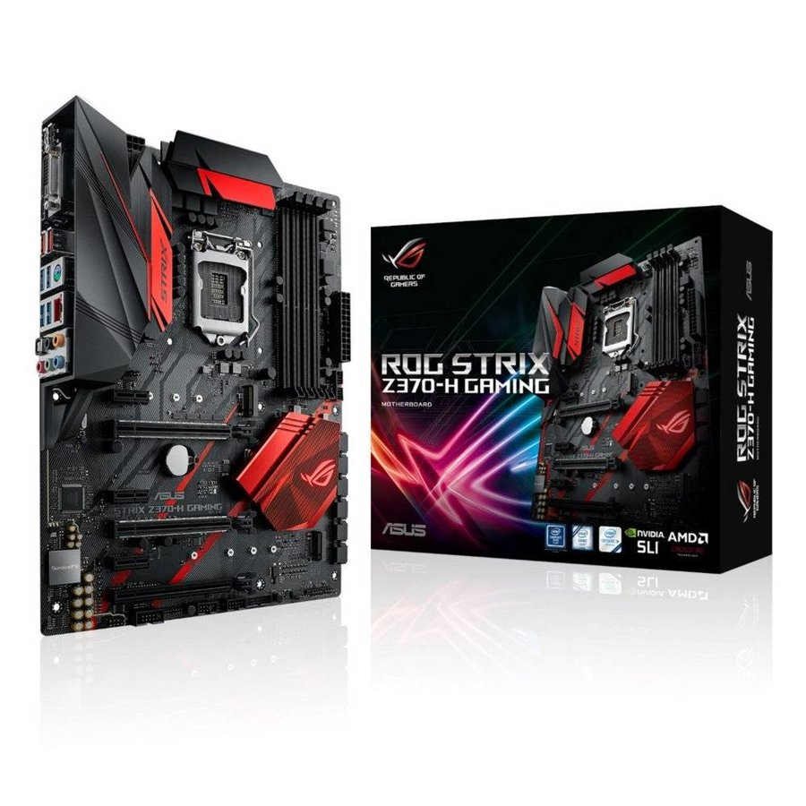 MB  ROG STRIX Z370-H 1151v2 / 4xDDR4 / HDMI / DVI /  ATX