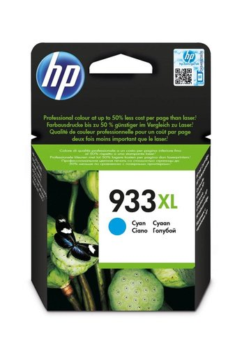 Hewlett Packard HP 933XL originele high-capacity cyaan inktcartridge