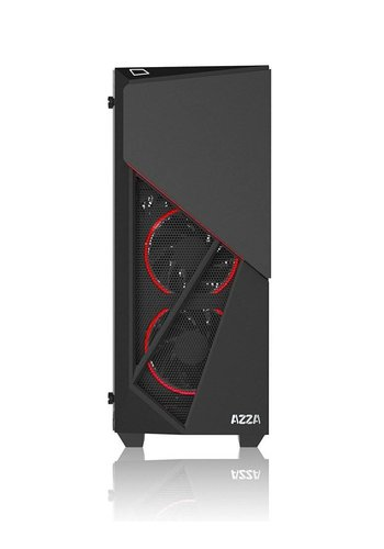 Azza Case  Inferno 310 MidTower / Glass/ ATX Black