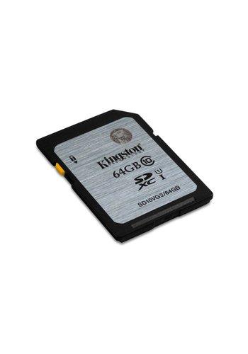 Kingston Technology Class 10 UHS-I SDXC 64GB 64GB SDXC UHS Klasse 10 flashgeheugen