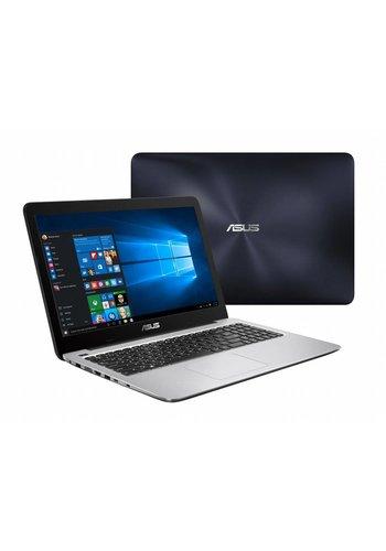 "Asus ASUS F556UQ-DM1298T 2.70GHz i7-7500U 15.6"" 1920 x 1080Pixels Blauw, Roestvrijstaal Notebook (refurbished)"
