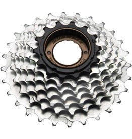 SunRace MFM2A - 6 Speed 14-28T Zinc Freewheel