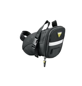Topeak, Aero Wedge W/Straps Blk-Small