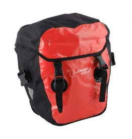 BAG WATERPROOF PANNIER SMALL RED