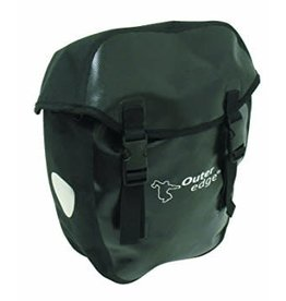 BAG WATERPROOF PANNIER LARGE BLACK each