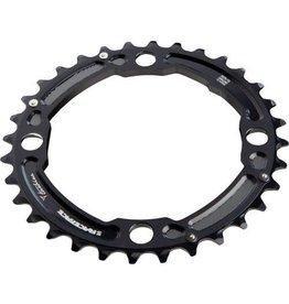 Pro MTB Chainring (2x10, 104x36T, Black, 4h)