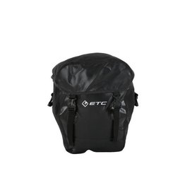 ETC black pannier Bag small X 1 Unifit