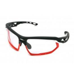 FOTONYK BLACK MATTE-IMPX 2 BLACK W/RED BUMPERS