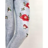 Jeans flower Pearl