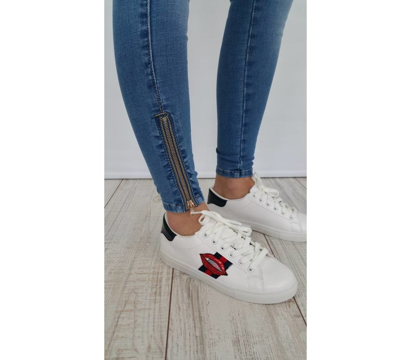 Jeans Ankle Zip
