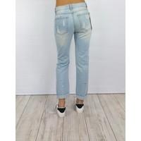 Boyfriend Splashed Jeans