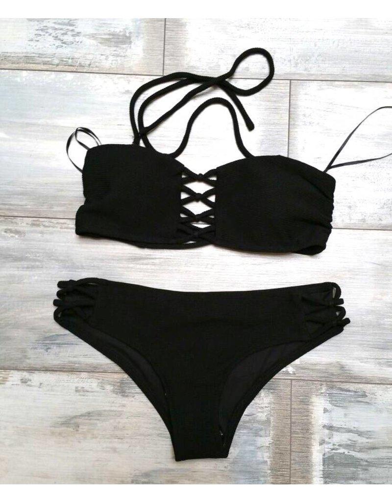Vera&Lucy swim 11333b/h black/white