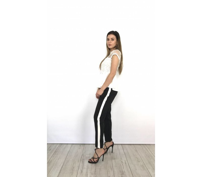 Pants IVIVI White Stripe