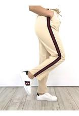 Track pants beige 9283C