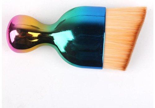 S Shape make-up brush