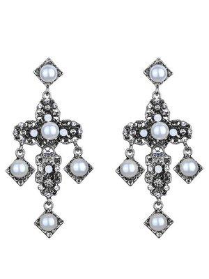 Oorbellen glamour cross