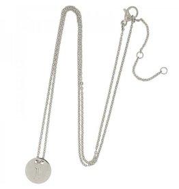 Necklace coin I -silver-